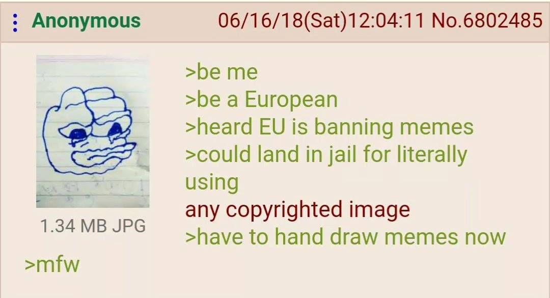 Anon is European