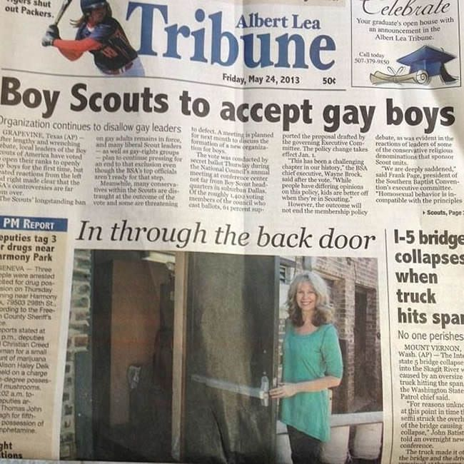 When I thought my local paper couldn't get any worse.