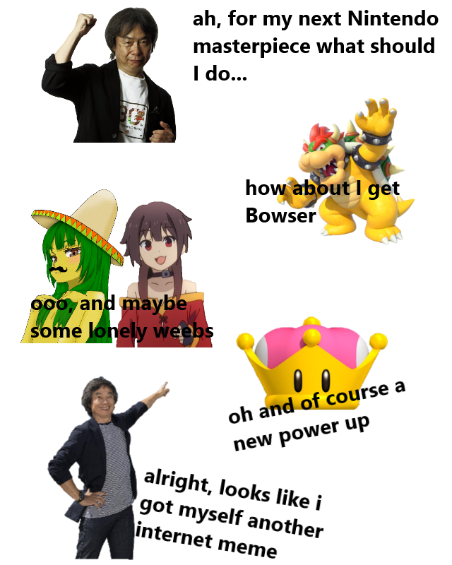 the bowsette raid in a nutshell