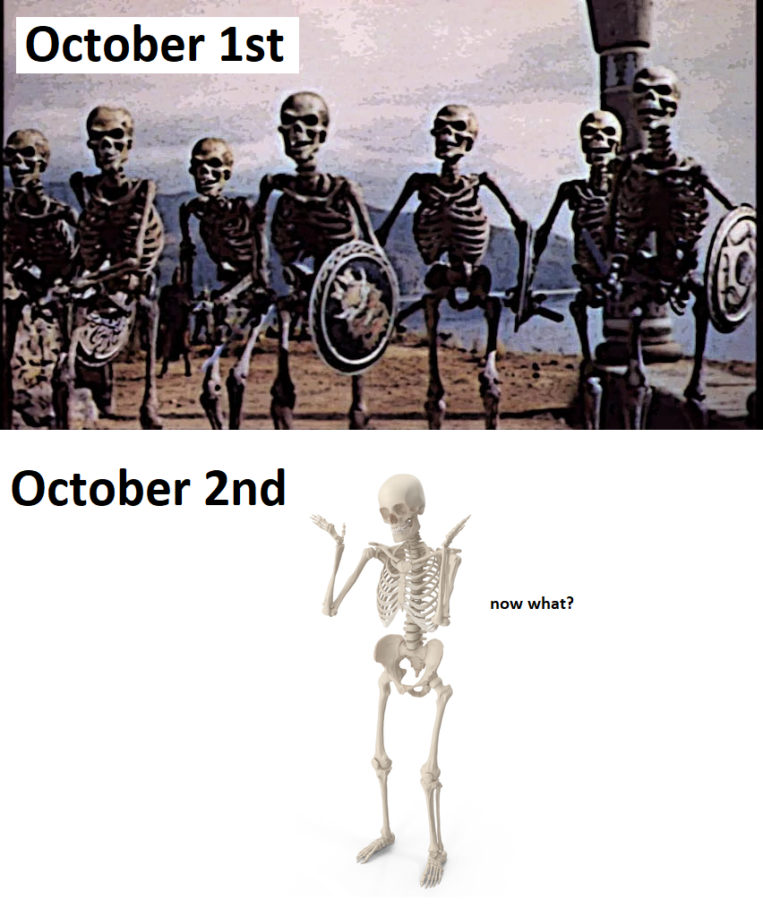 dont forget a funny title! - something with doot in it - a reference to halloween