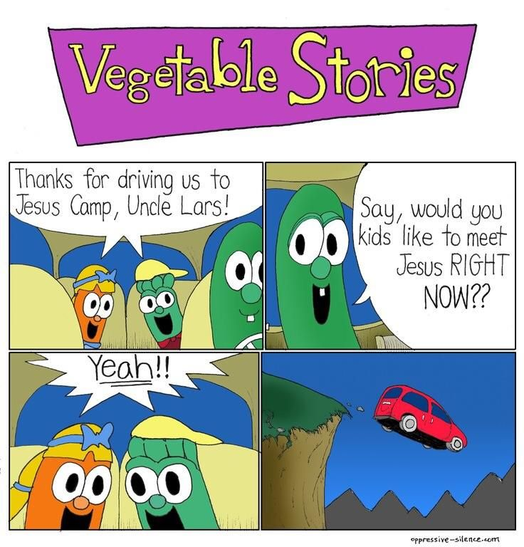 "This comic strip had me at ""Vegetable Stories"""