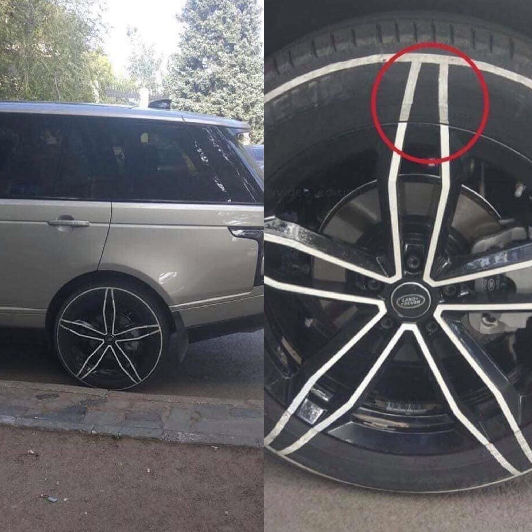 "Can't afford 20"" rims? No problem..."