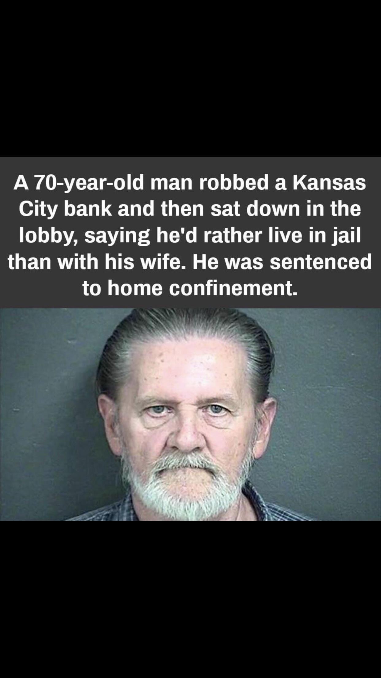 You've heard of Floridaman now, Kansasman.