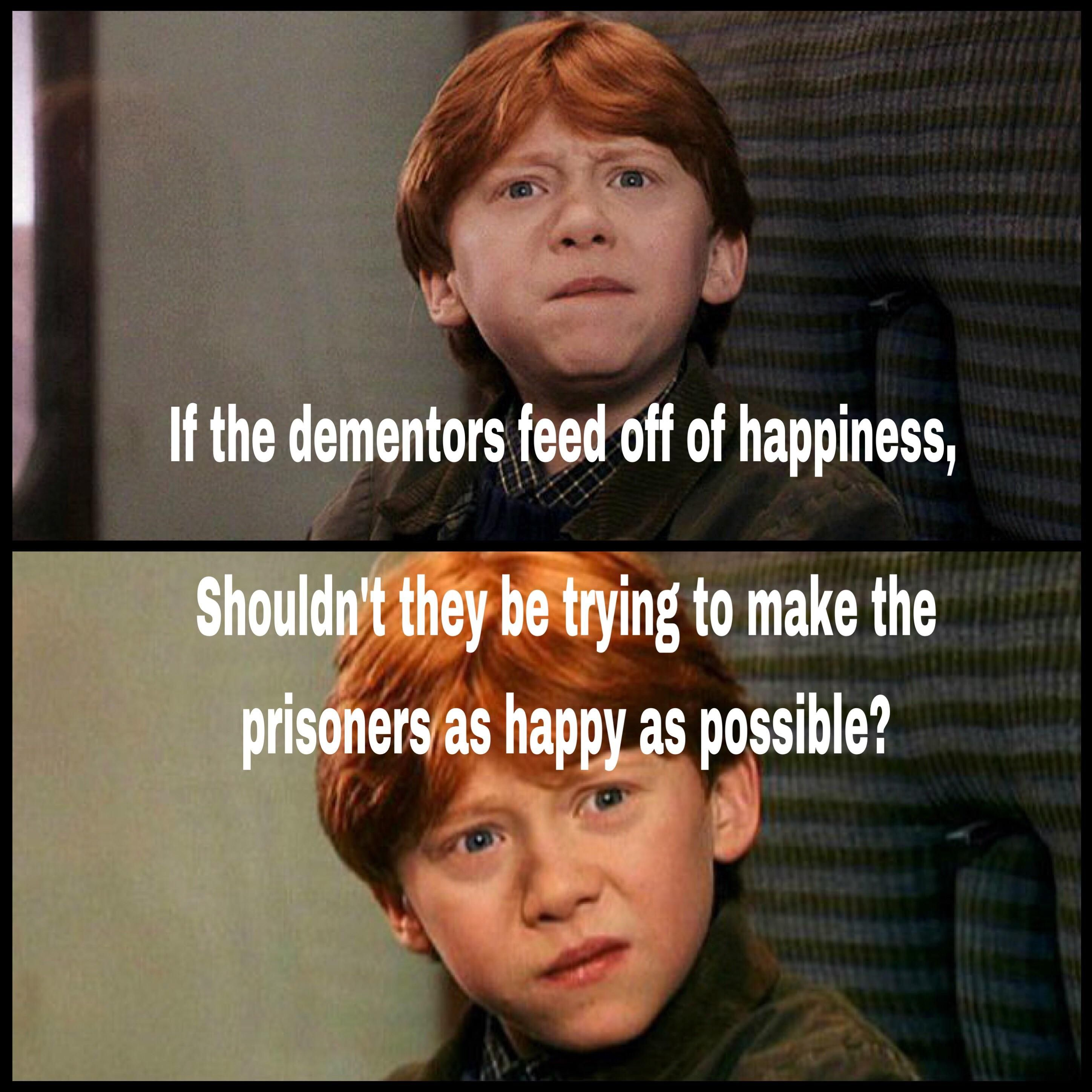 Azkaban should be happiest place on earth