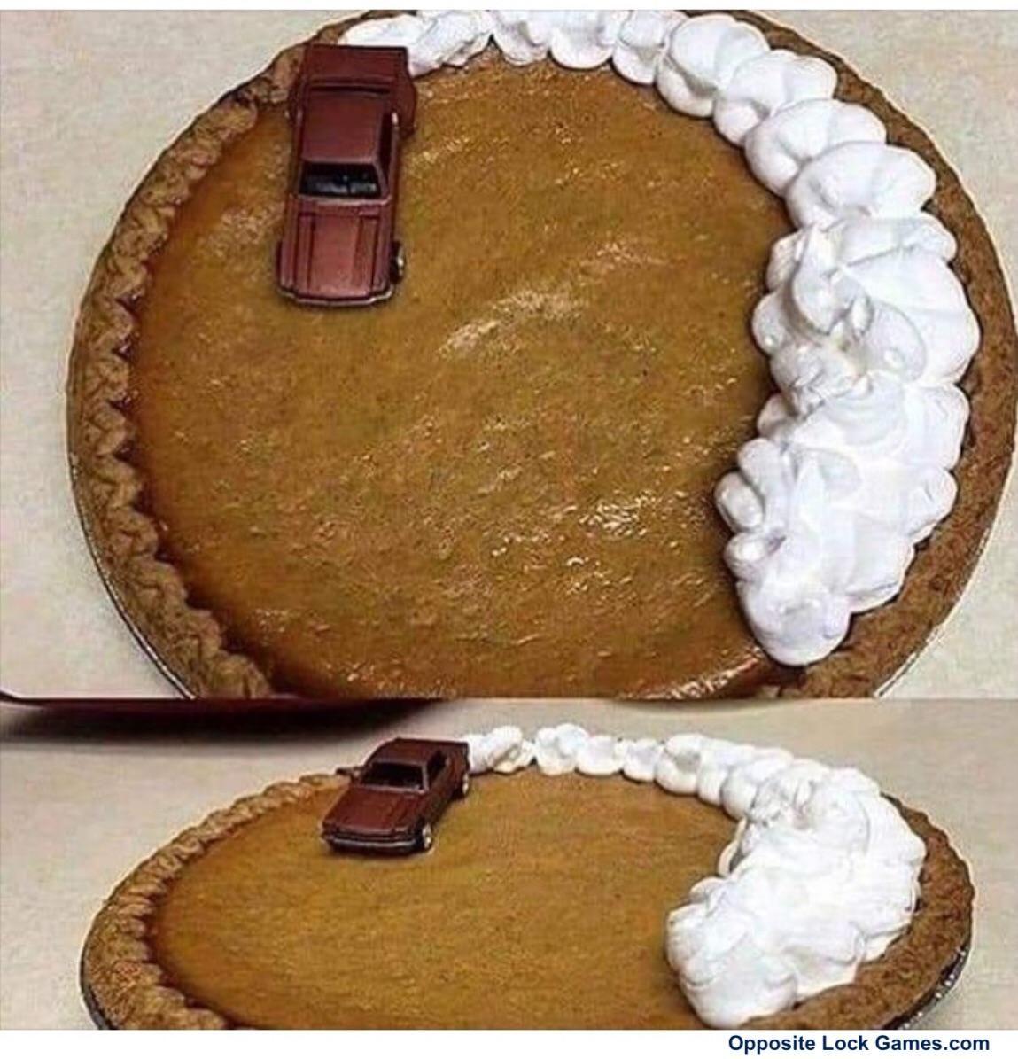 Burnout pie
