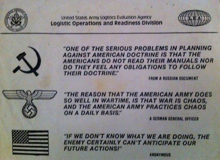 Doctrine is for amateurs