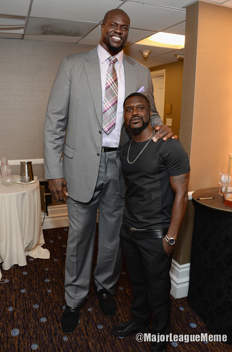 Kevin Hart/Shaquille O'Neal face swap