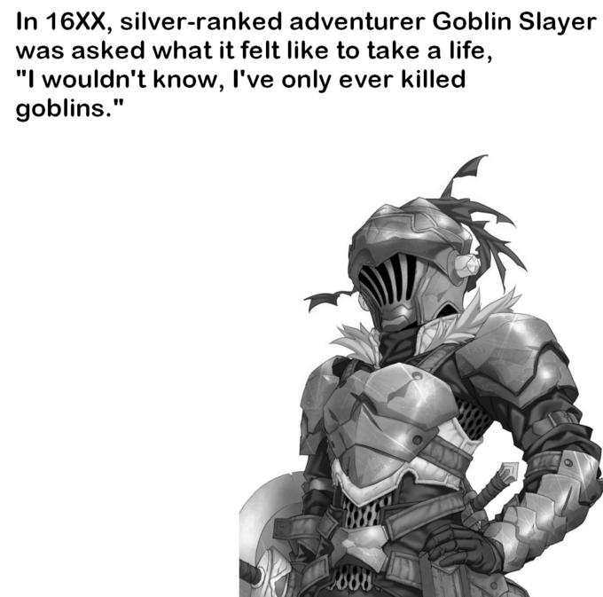 spoken like a true slayer