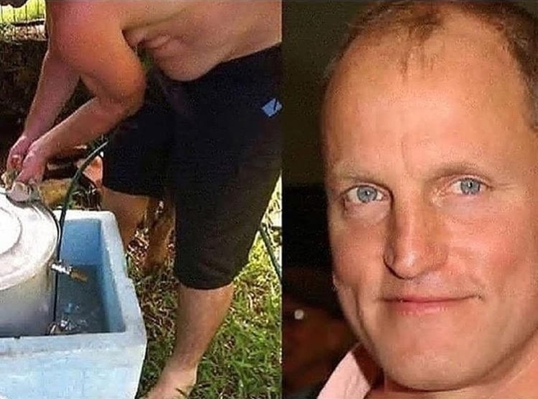 This dude's stomach looks like woody harrelson