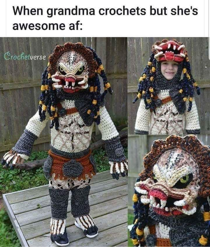 I have no kids of my own, so I told my sister I would pay her to put her youngest in this costume.