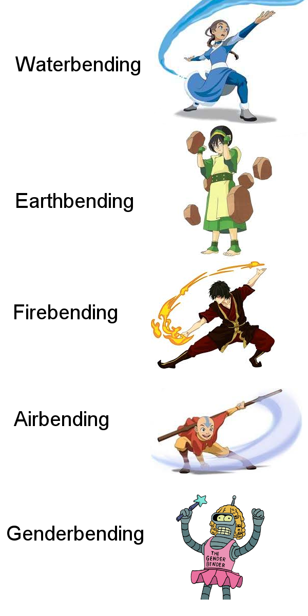The Five Bending Arts