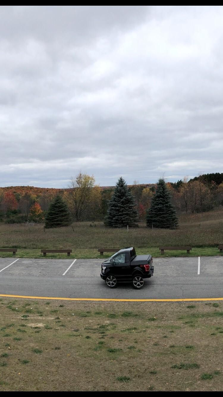 Girlfriend took a panoramic of a scenic overlook