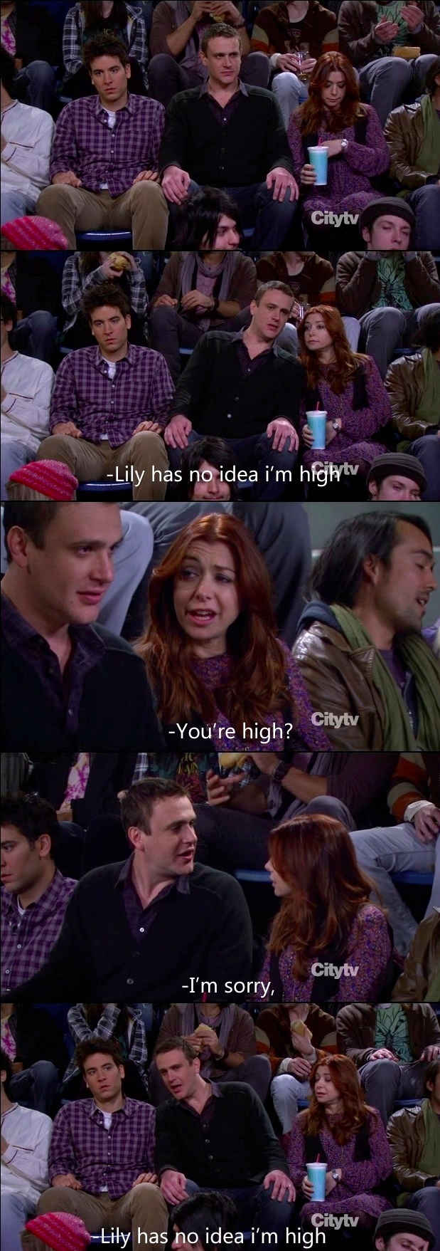 Still my favourite moment in How I Met Your Mother