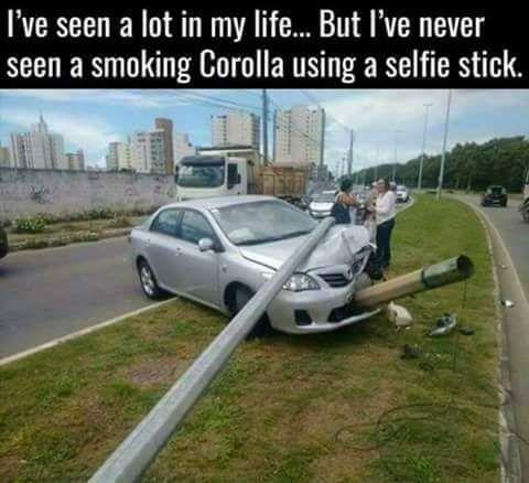 Smokin Corolla