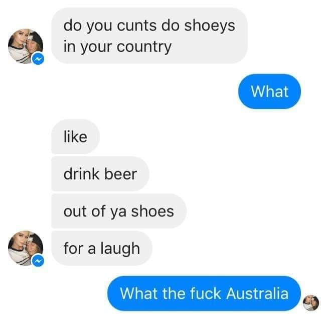 drinking down under