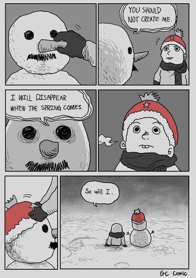Winter is near