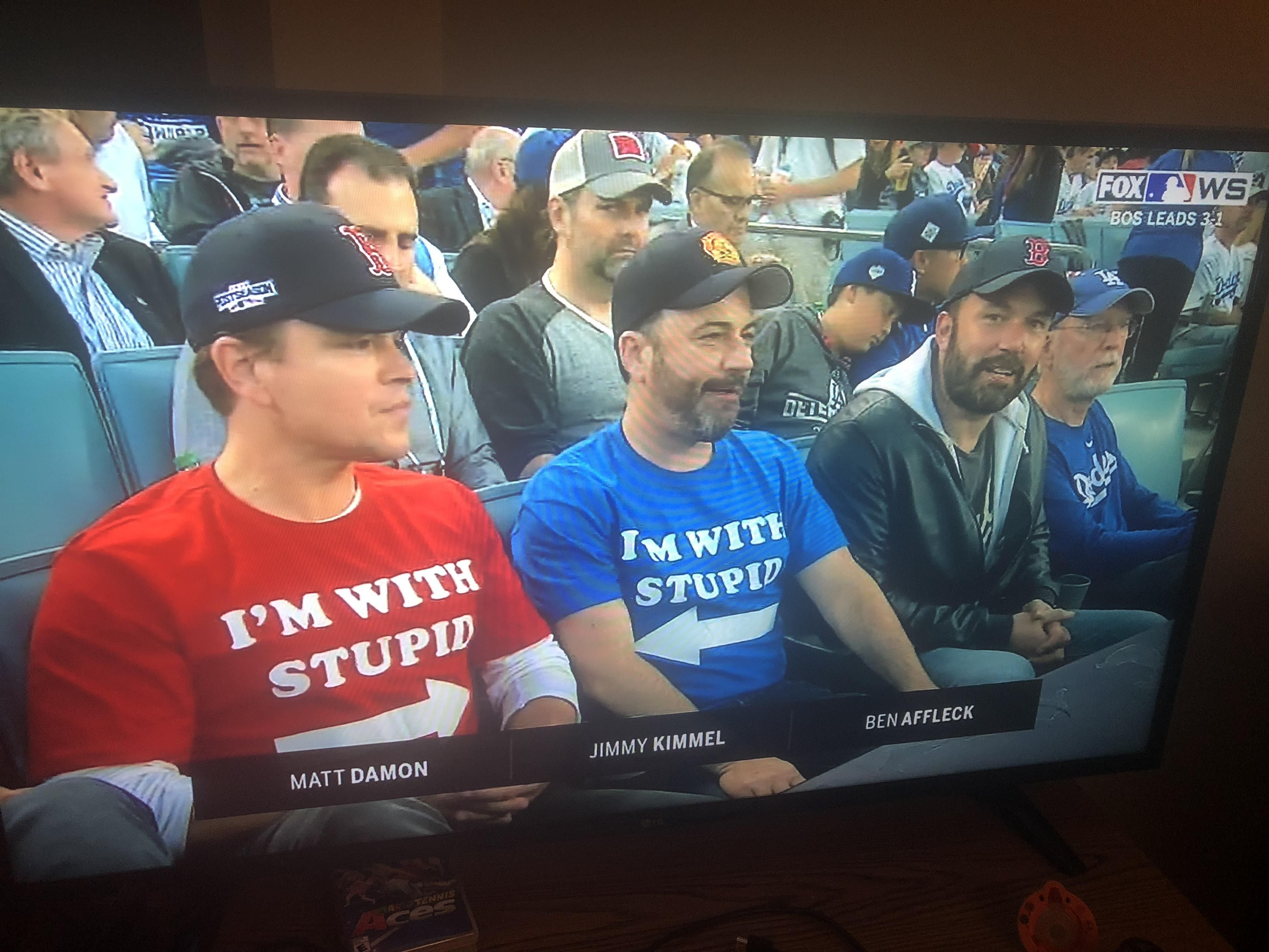 Proof that baseball can unite the worst of enemies