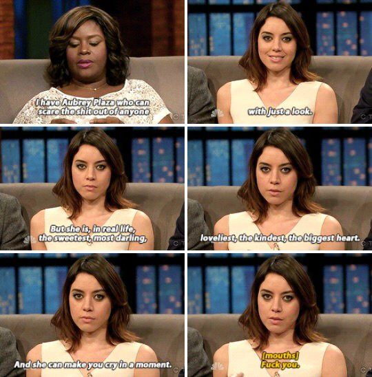 Aubrey Plaza in real life