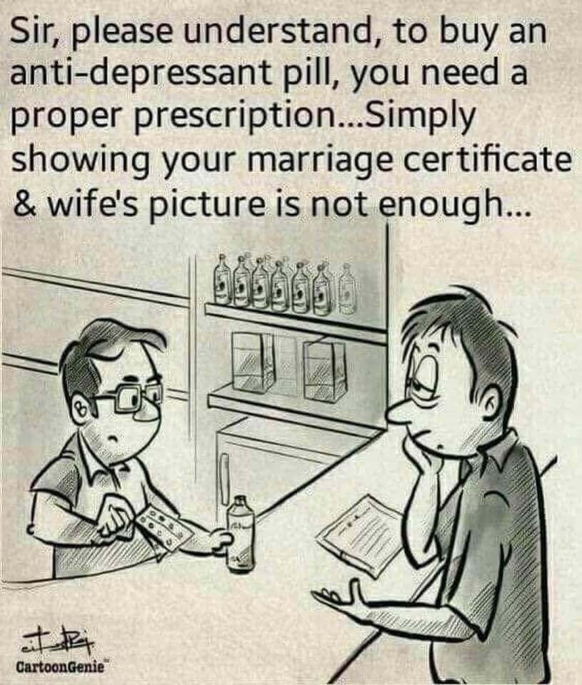 Buying anti-depressants