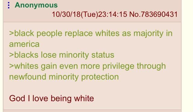 Anon checks his privilege
