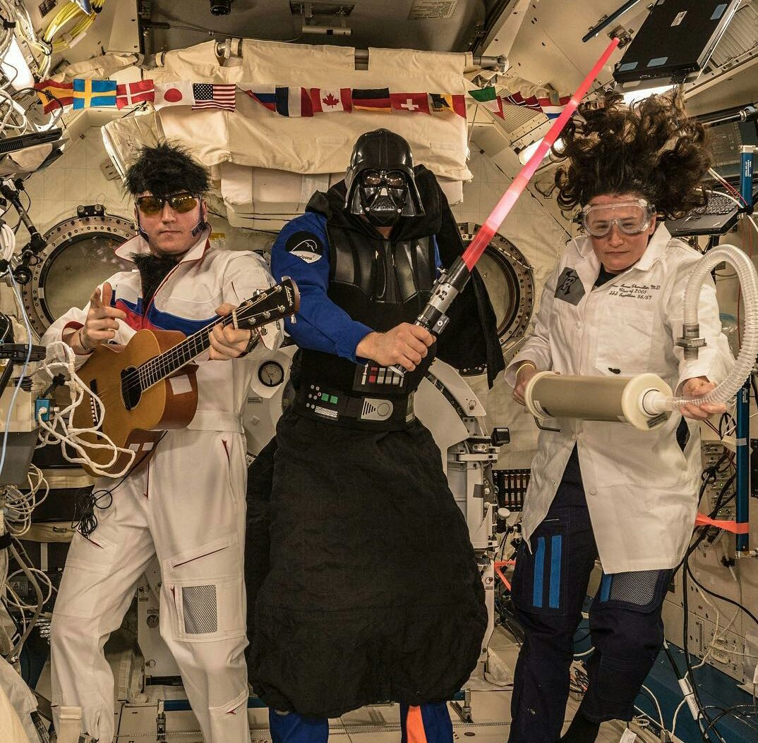 Halloween on the ISS