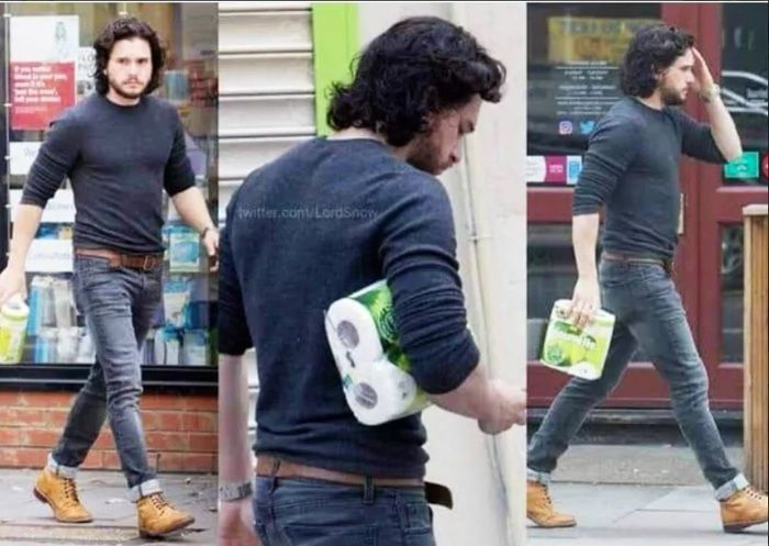 Jon snow on his way to the throne!