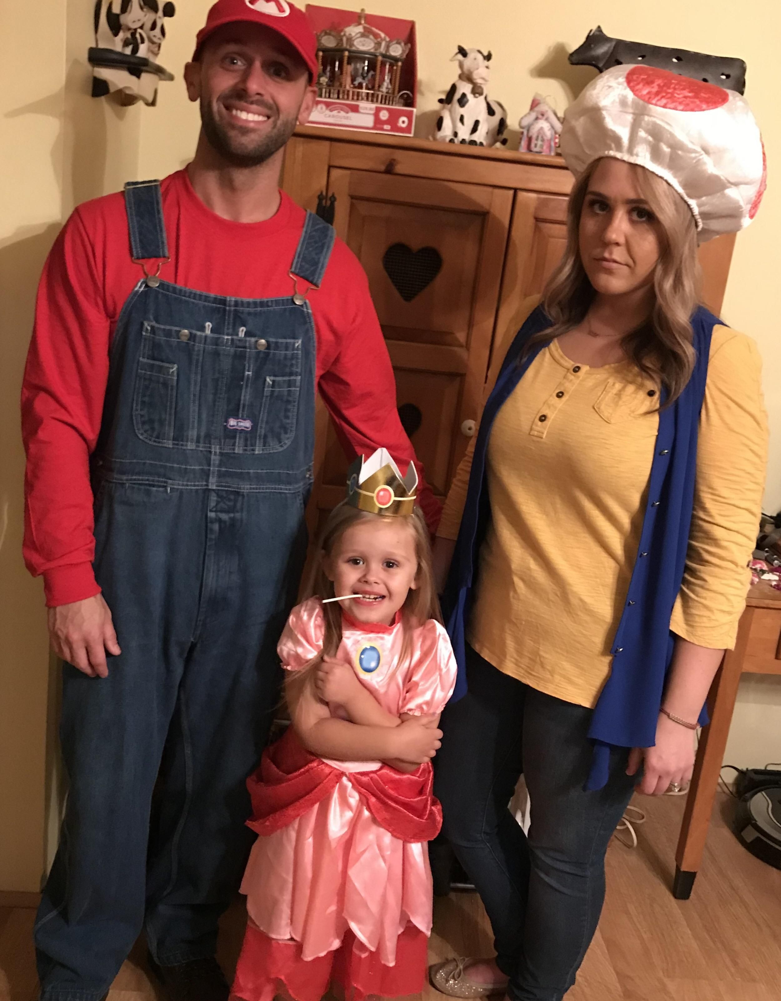 We let our daughter choose our costumes - my wife was not too happy with hers.