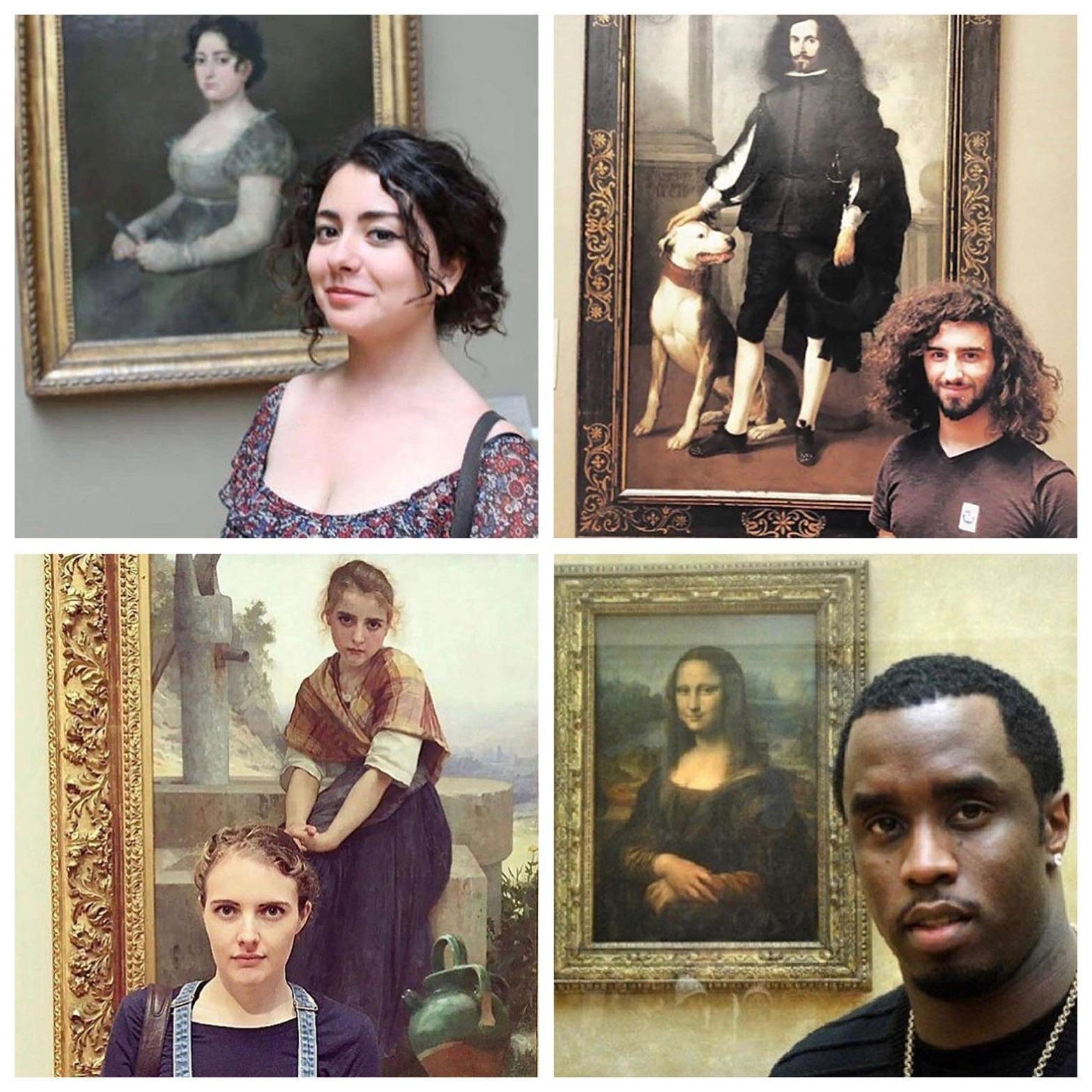 Museum Lookalikes
