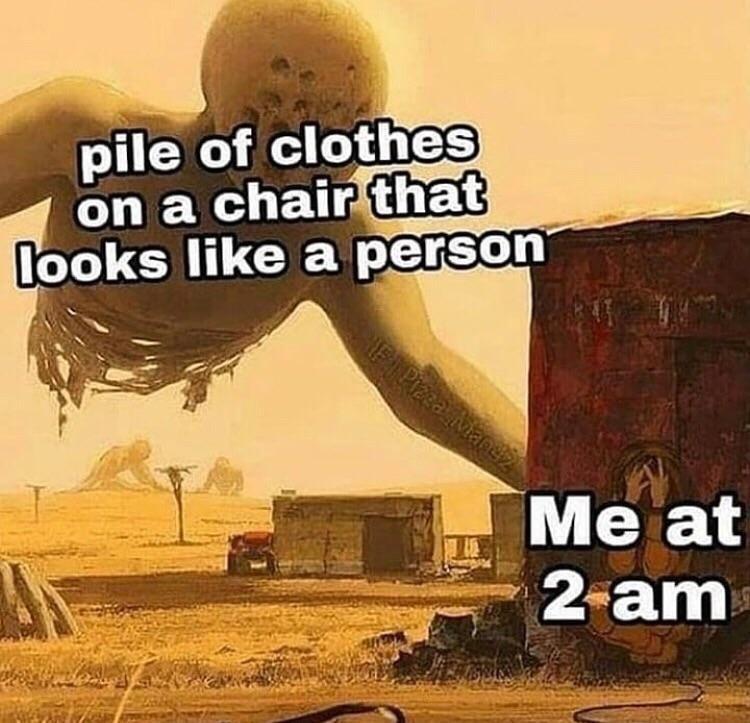 I hoped that i wouldnt wake up