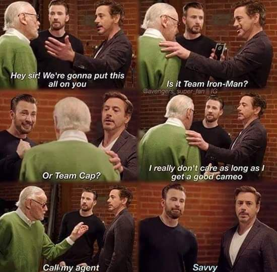 Stan Lee will return...