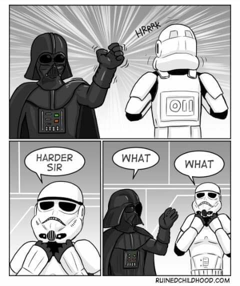 The force is strong...
