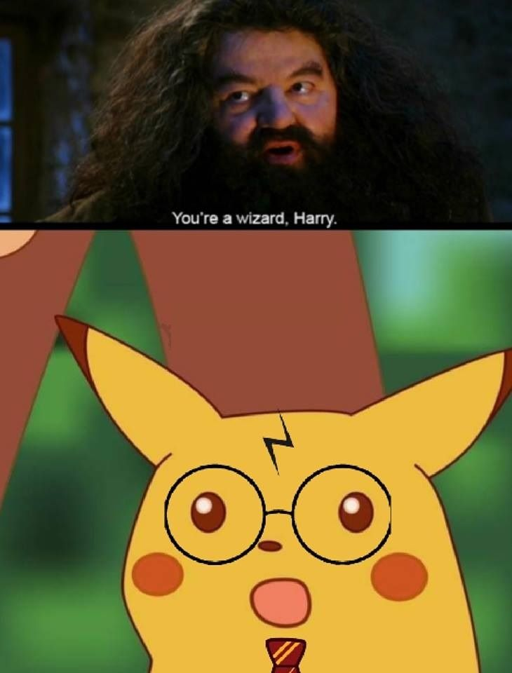 You're a wizard Pikachu