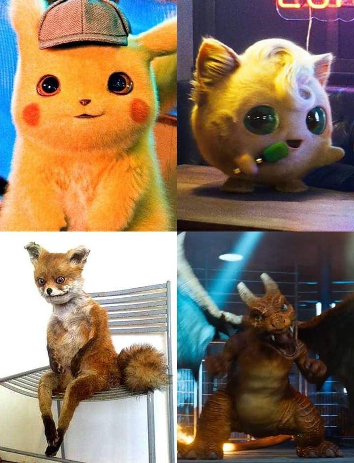 The CGI in the new live action Pokémon movie looks so great