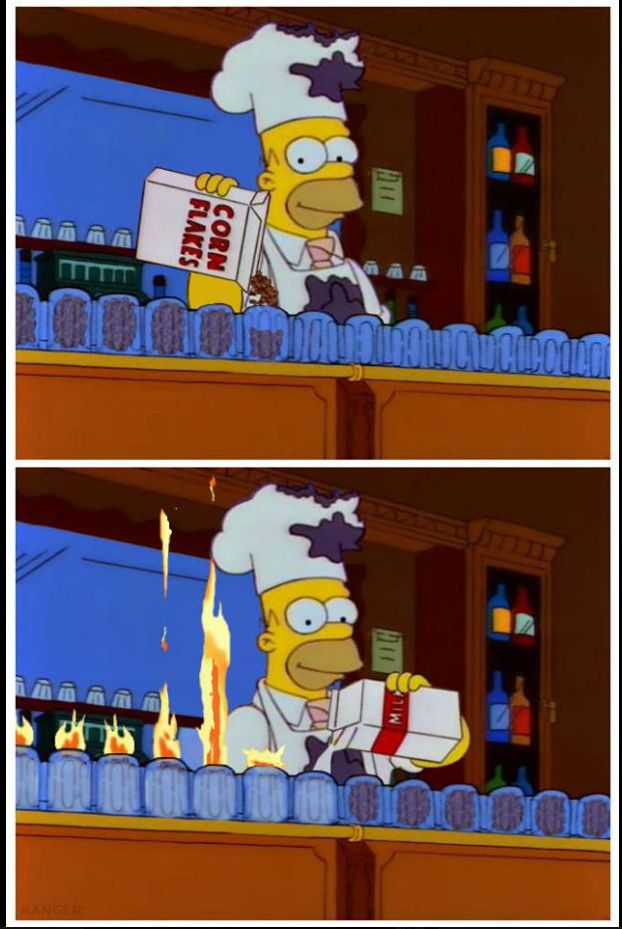 How to make a Flaming Homer