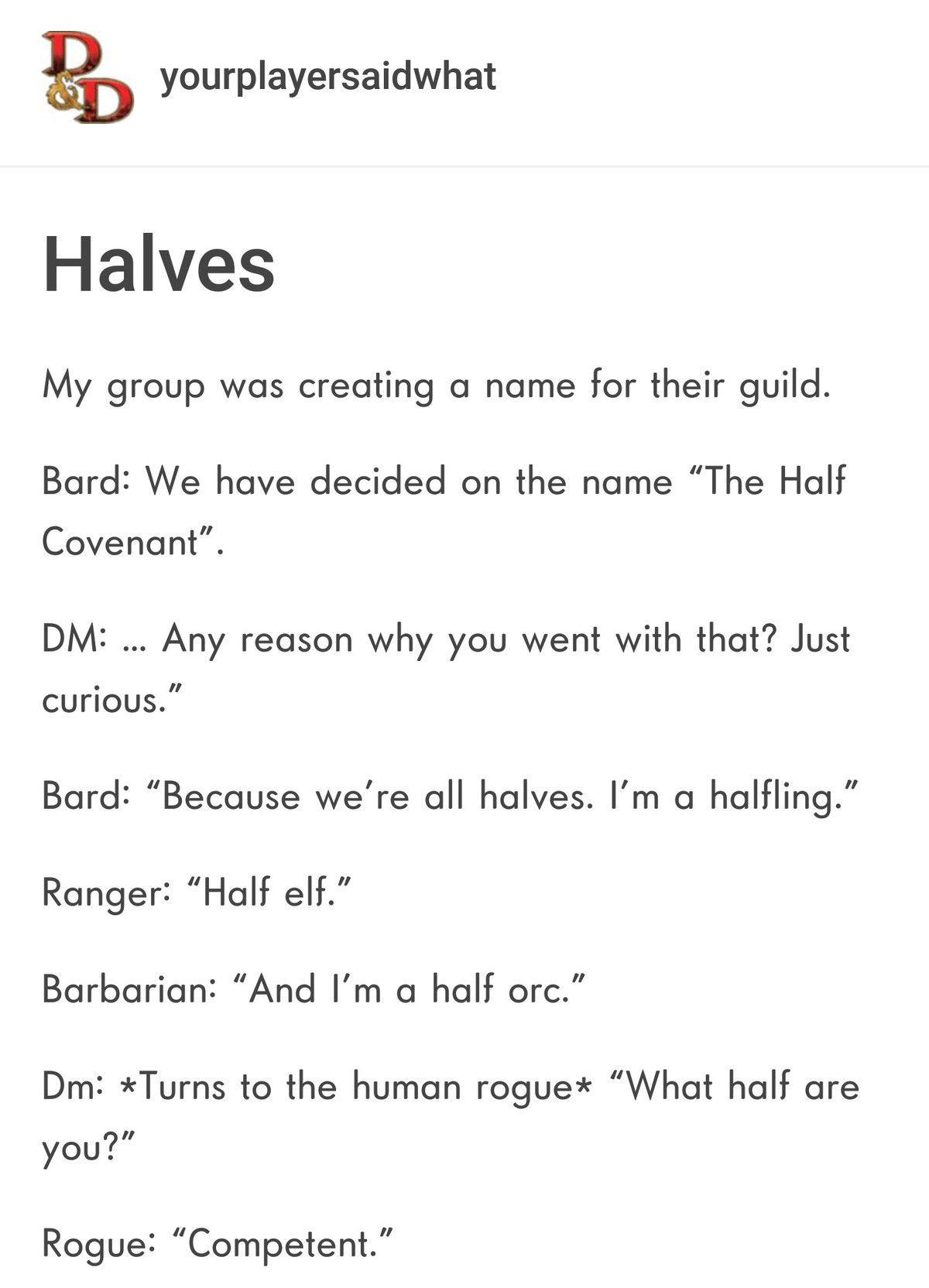 The Halves