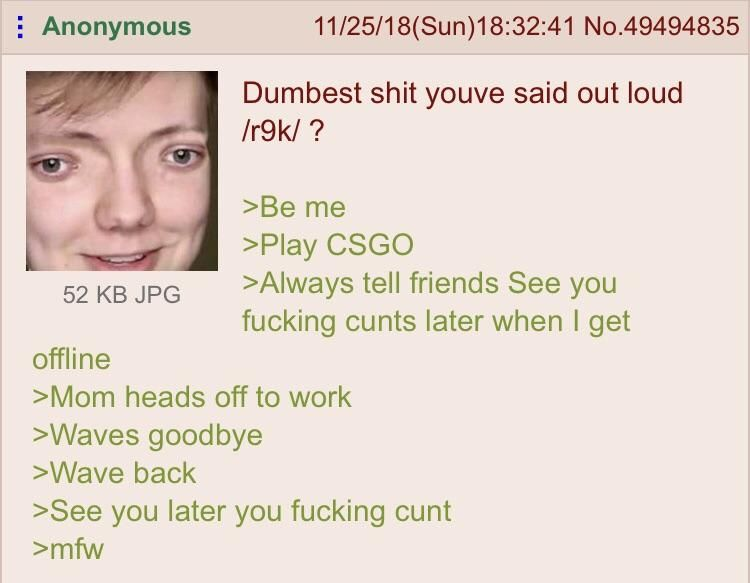 Anon is dumb