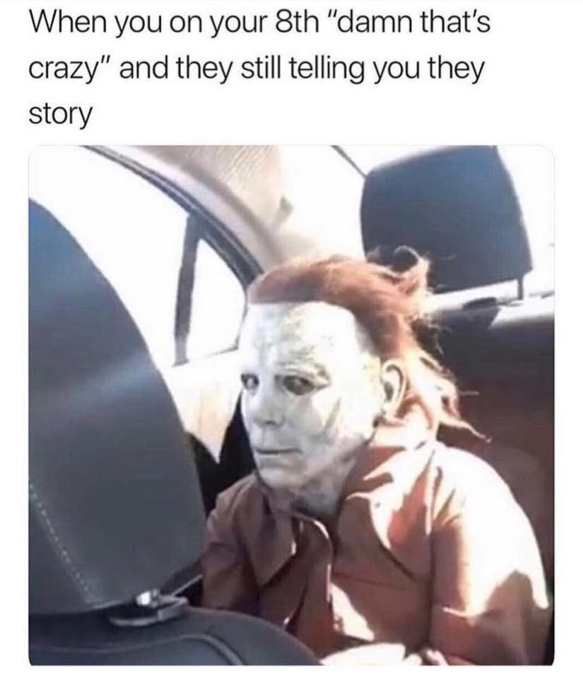 Damn, that's crazy
