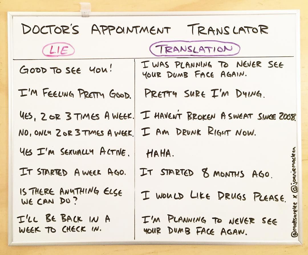 Doctor's appointment translator