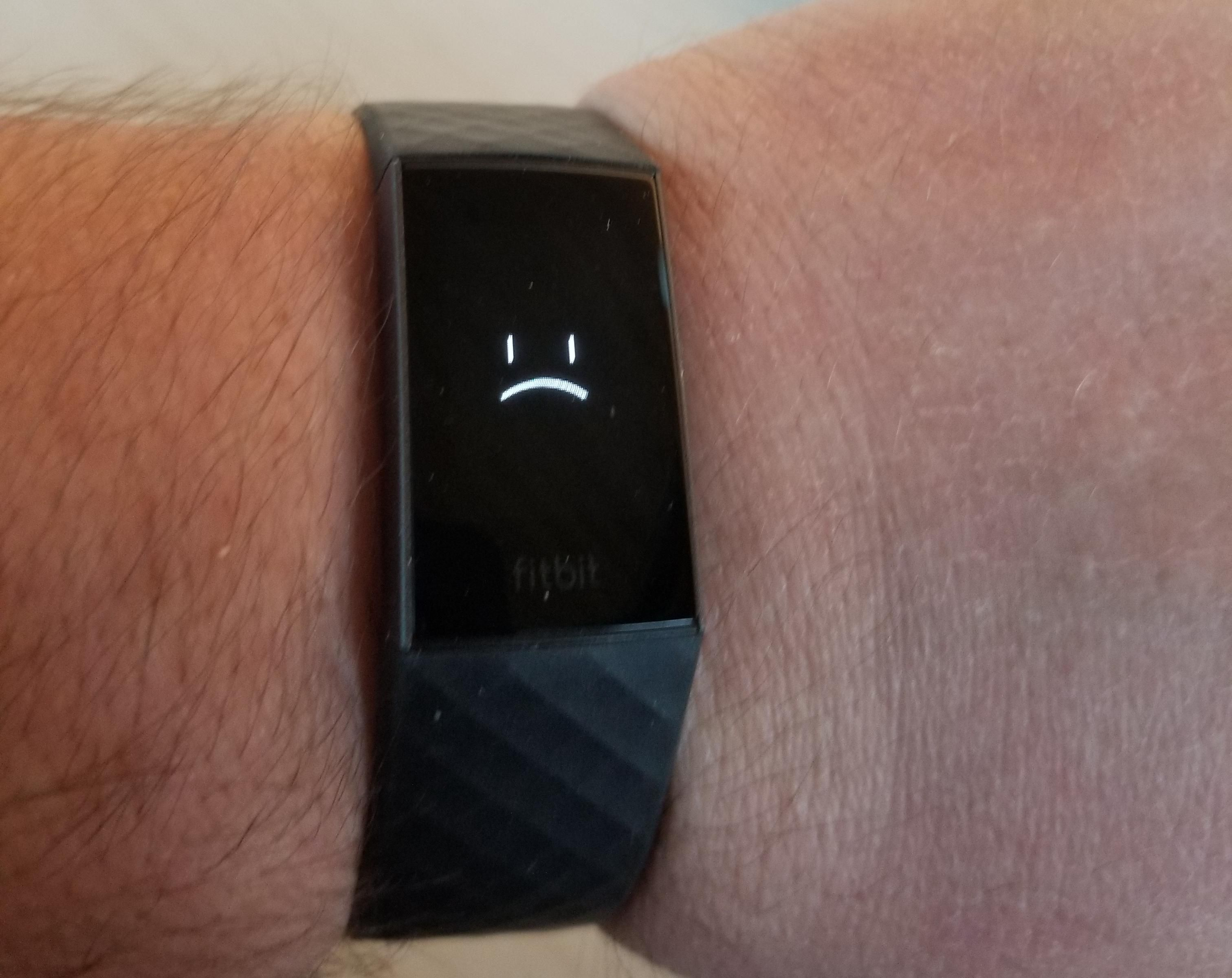 My Fitbit just realized I'm fat