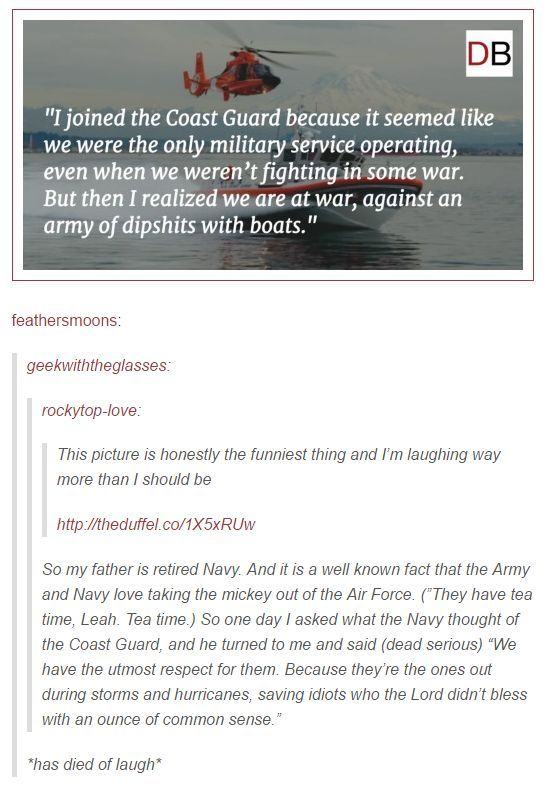 """""""We are at war with an army of dipshits with boats."""""""