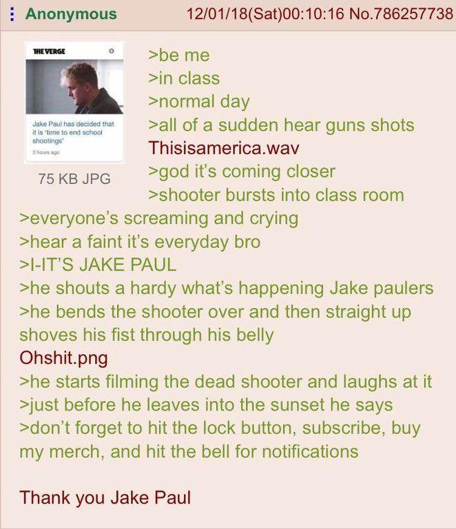 Jake Paul BIG hero