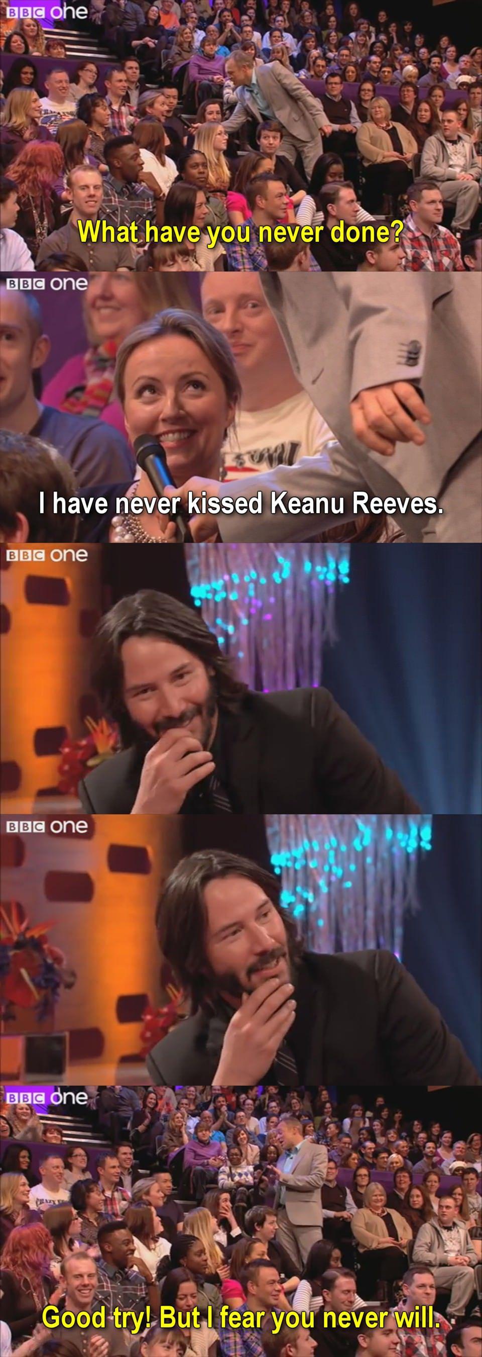 Keanu was considering it