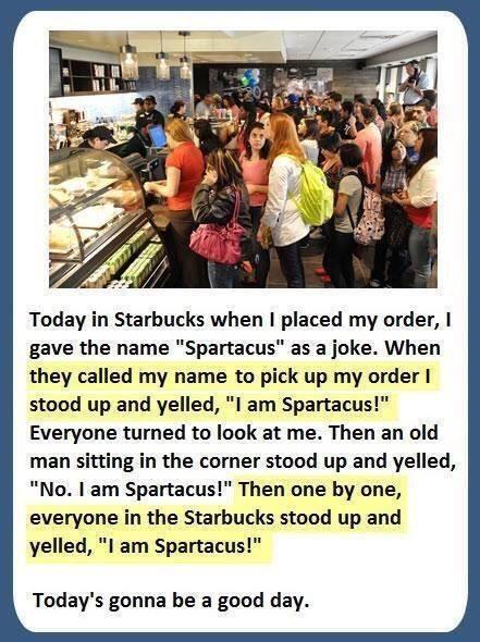 Actually I am Spartacus