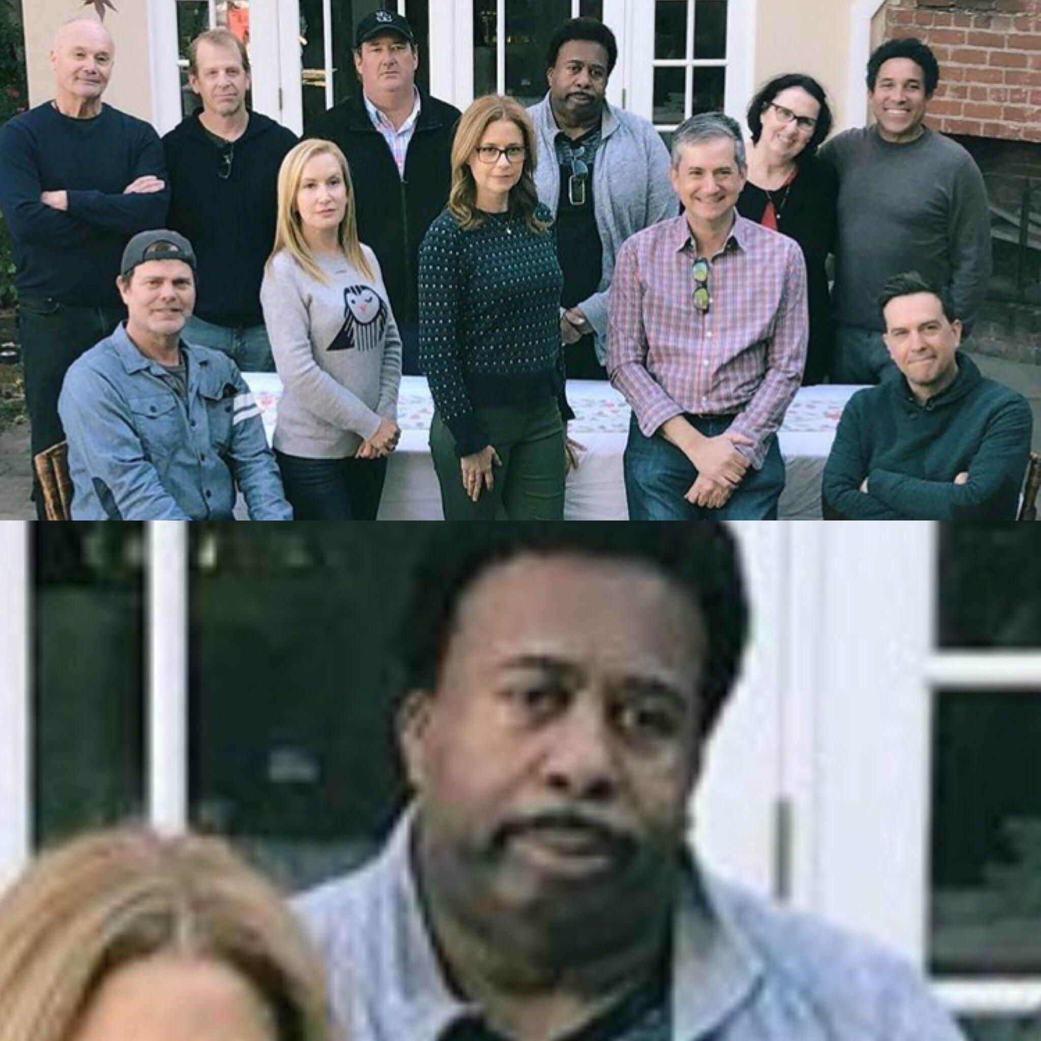 When they told you the reunion wasn't on pretzel day.....