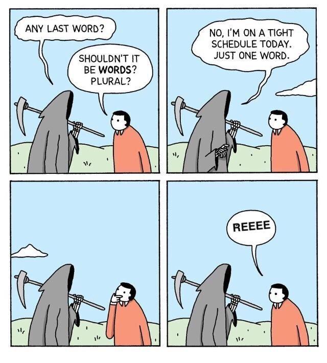When a meemer dies