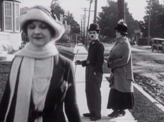 Chaplin invented the Distracted Boyfriend meme before it was a normie thing