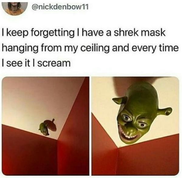 He sees you when you sleeping