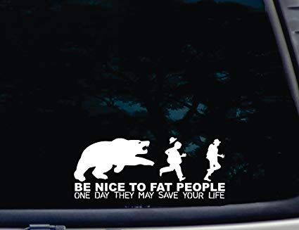 I found this sticker on a car window today.
