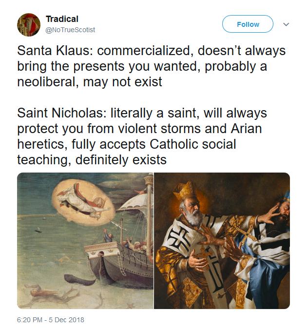 Saint Nicholas, pray for us