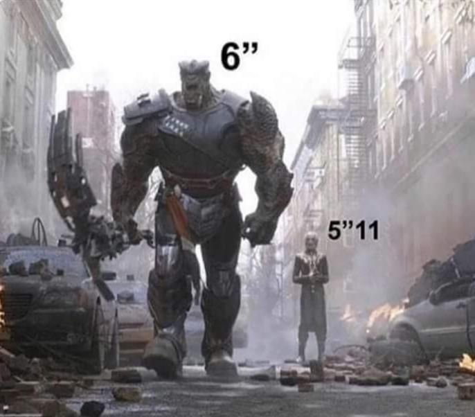 How women see height